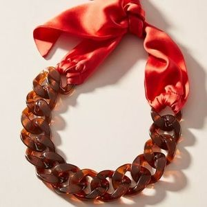 New Anthropologie by Donni Tortoiseshell Necklace